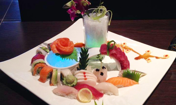 Level Restaurant & Bar - The Fan: $16 for $30 Worth of Sushi and Asian-Fusion Cuisine for Two at Level Restaurant & Bar