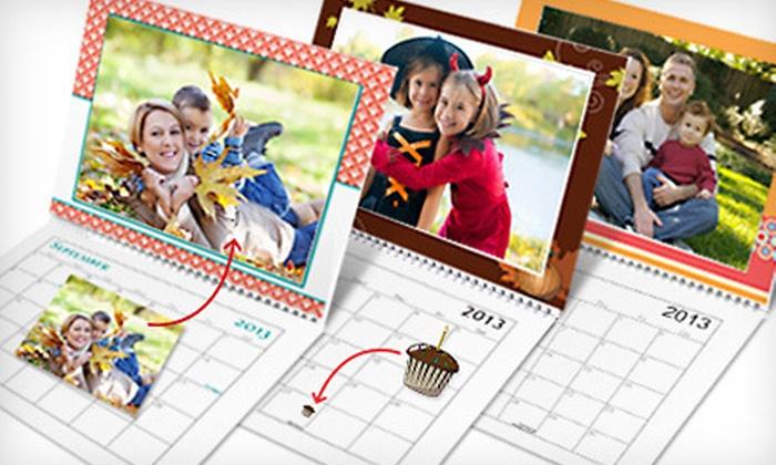 Vistaprint Custom Photo Calendar: $10 for a Customized Photo Calendar from Vistaprint with Shipping Included ($35.06 Total Value)