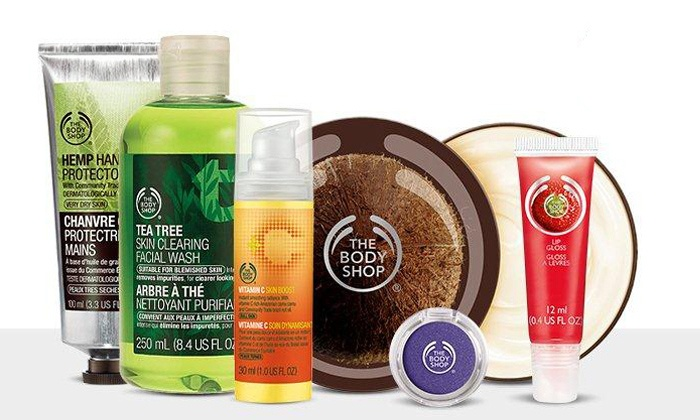 The Body Shop - Fox River Mall: $15 for $30 Worth of Ethical Skincare, Makeup, Hair, and Body Products at The Body Shop