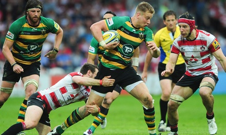 Northampton Saints v Gloucester Rugby Tickets Plus Pie and Pint at Franklin's Gardens, 28 October