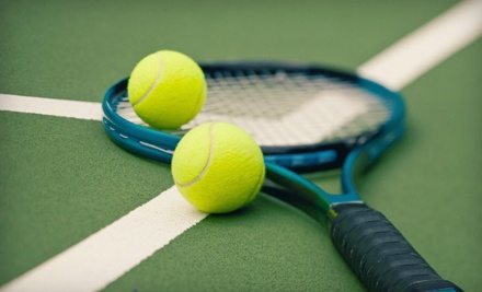 1-Hour of Private Court Time with Ball-Machine Rental (a $20 value) - Huber Tennis Ranch in Cypress