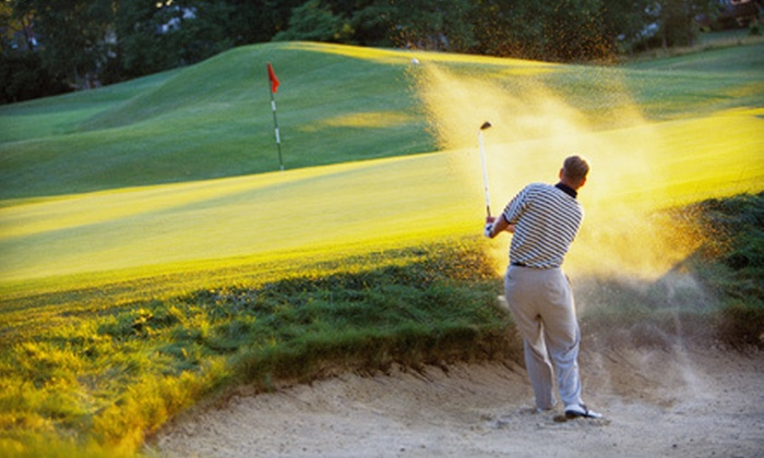 Beckett Golf Club - Woolwich: 18-Hole Round of Golf for Two or Four Including Cart Rental at Beckett Golf Club (Up to 53% Off)