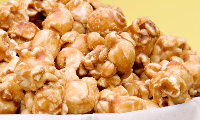Just Poppin Gourmet Popcorn - Just Poppin Gourmet Popcorn: Gourmet Chicago-Style Popcorn at Just Poppin Gourmet Popcorn (Half Off). Two Options Available.