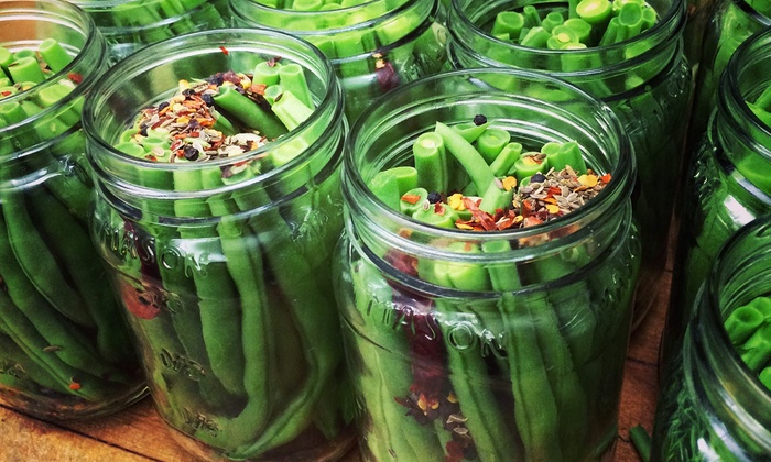 BYOB Pickling Class - San Francisco: Master the Art of Pickling with the Founder of McVicker Pickles