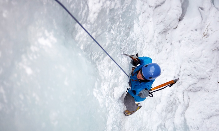 Vertical Adventure Guides - Green Garden: Ice Climbing Plus a Lesson and Gear Rental for One or Two from Vertical Adventure Guides (Up to 48% Off)