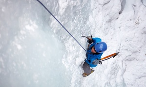 Vertical Adventure Guides: Ice Climbing Plus a Lesson and Gear Rental for One or Two from Vertical Adventure Guides (Up to 48% Off)