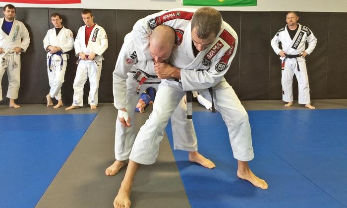 Fight to Win Brazilian Jiu-Jitsu of Denver, NC - Lowesville: $49 for One Month of Jiu-Jitsu Classes at Fight to Win Brazilian Jiu-Jitsu of Denver, NC ($125 Value)