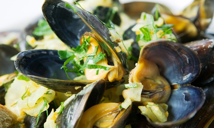 Oshun - Central Buffalo: $25 for $50 Worth of Sustainable Seafood and Raw Bar for Dinner, Valid Monday–Thursday at  Oshun