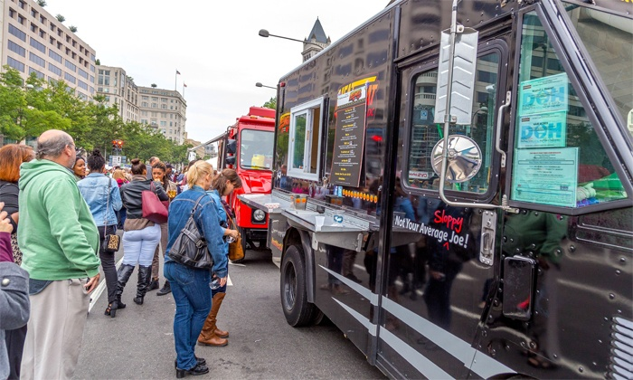 Taste of DC - H Street - NoMa: Admission for One to the Taste Tailgate by Taste of DC (Up to 42% Off)