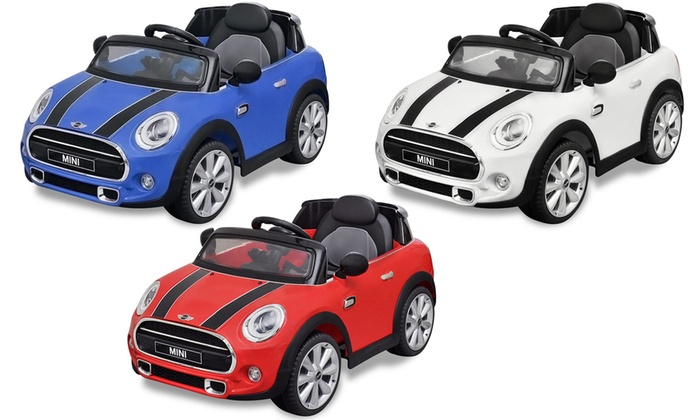 voiture lectrique pour enfant mini cooper s groupon. Black Bedroom Furniture Sets. Home Design Ideas