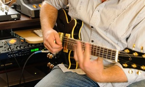 Stylie Studio: Four or Eight Weekly 30-Minute Guitar, Electric Bass, or Beginner Piano Lessons at Stylie Studio (Up to 55% Off)