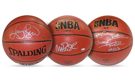Autographed NBA Superstar and Legend Basketballs from Steiner Sports for $59.99-$299.99