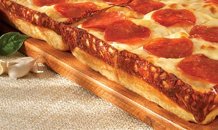 One-Topping Deep-Dish Pizzas at Little Caesar's (Up to 44% Off). Two Options Available.