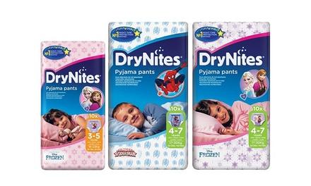 64 Huggies DryNites pour garçons et filles de 3 à 7 ans (SaintEtienne)