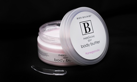 Pheromone-Infused Pomegranate Body Butter; 7 Oz.