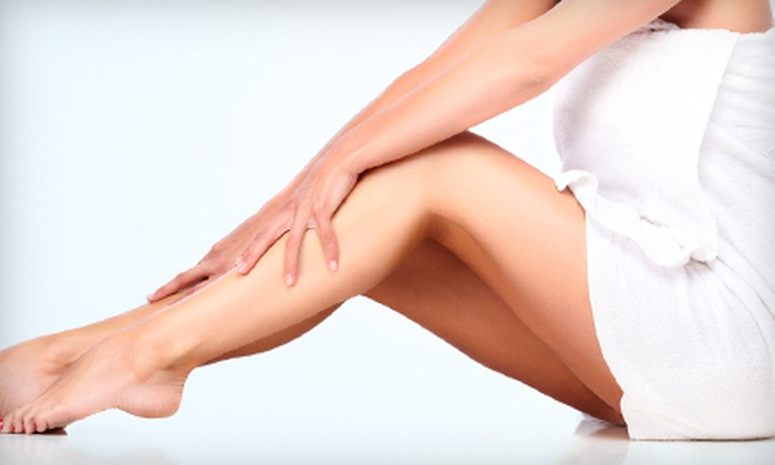 Grande Med Spa - Grand Blanc: $99 for Six Laser Hair-Removal Treatments on One Area at Grande Med Spa ($600 Value)