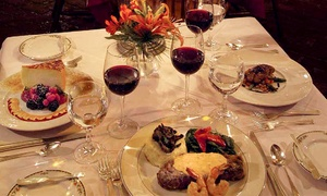 The Milton Inn Restaurant: Upscale Fare at The Milton Inn Restaurant in Sparks (Up to 57% Off). Two Options Available.
