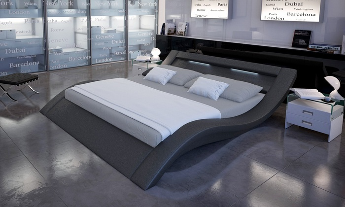Letto matrimoniale di design | Groupon Goods
