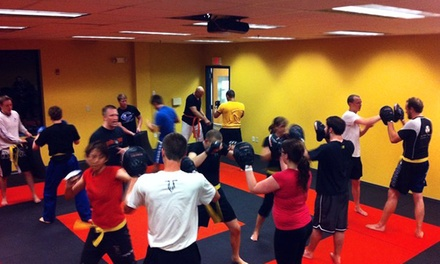 Krav Maga or  Fitness Classes for Adults or Kids at Silverback Academy (Up to 75% Off). Four Options Available.