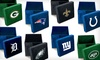 $19.99 for MLB or NFL Microfiber Ottoman