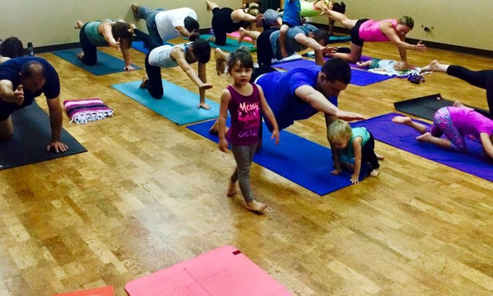 Yoga Bliss Family Studio - Edmond: 65% Off Yoga Membership at Yoga Bliss Family Studio