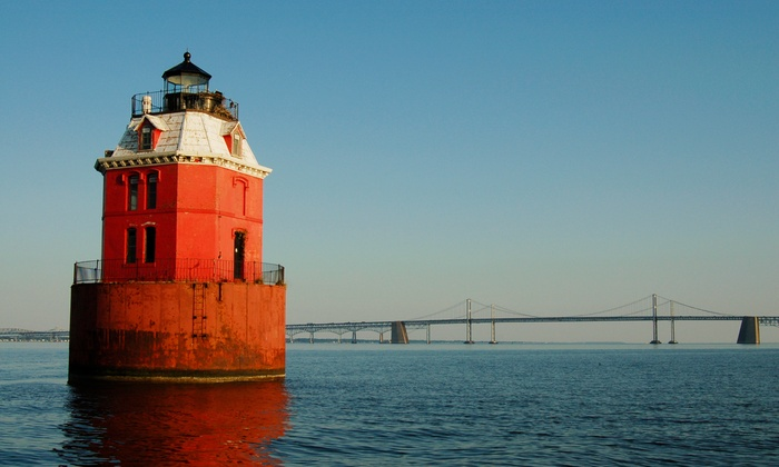 Chesapeake Lights - Tilghman Island: Historic-Lighthouse Tour via Boat for One from Chesapeake Lights (38% Off). 14 Dates Available.