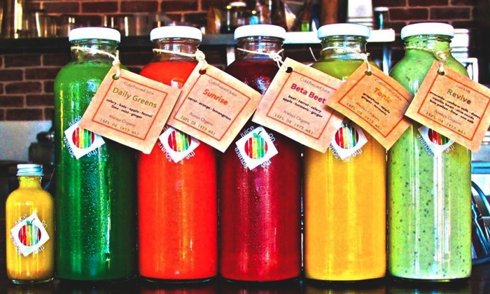 Juice On The Square - Santa Rosa Location: One-Day Juice Cleanse for One or Two People from Juice on the Square (Up to 31% Off)