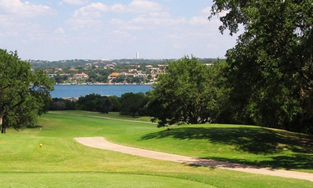 18-Hole Round of Golf for Two or Four with Cart and Range Balls at Point Venture Golf Club (Up to 50% Off)