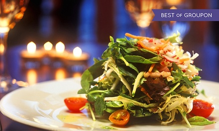 Tasting Dinner for Two or Four at Brentwood Bay Resort Dining Room (Up to 46% Off). Two Menus Available.