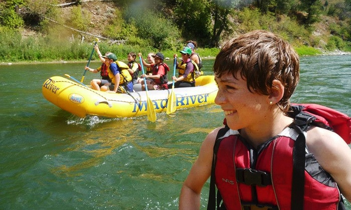 Mad River Boat Trips - Mad River Boat Trips: Whitewater Rafting Trip for Two with Optional Cookout from Mad River Boat Trips (Up to 42% Off)