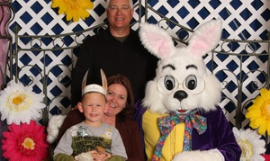 Southlands Venture's Inc.: Photos with Easter Bunny for Up to Four Kids with Prints or CD from Southlands Ventures Inc. (Up to 57% Off)
