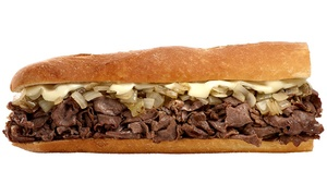 Tony Luke's: $18 for Two Groupons, Each Good for $15 Worth of Italian Sandwiches at Tony Luke's ($30 Total Value)