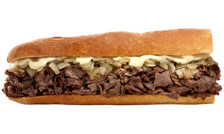$18 for Two Groupons, Each Good for $15 Worth of Sandwiches at Tony Luke's ($30 Total Value)