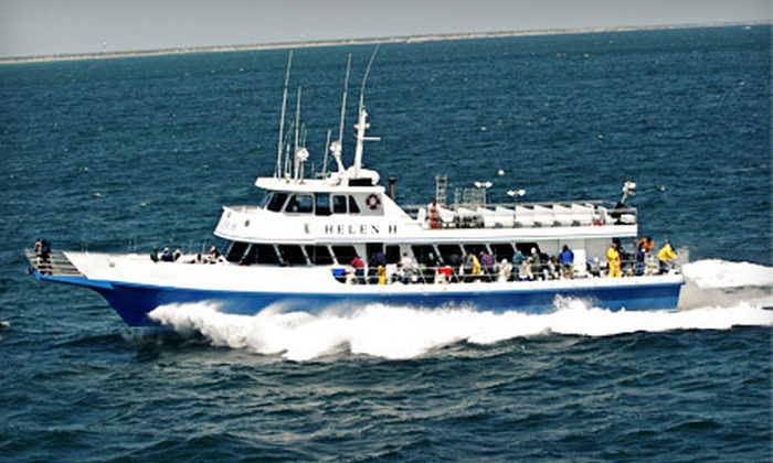 Helen H Fleet - Hyannis: $49 for a Four-Hour Sea-Bass- and Fluke-Fishing Trip for Two with Gear from Helen H Fleet in Hyannis ($86 Value)