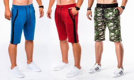 Shorts de la collection Bret & Jehiel pour Homme