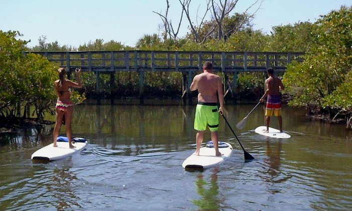 South Florida Paddle LLC - Multiple Locations: Two-Hour Standup-Paddleboard Eco Tour for Two or Rental for One from South Florida Paddle LLC (Up to 53% Off)