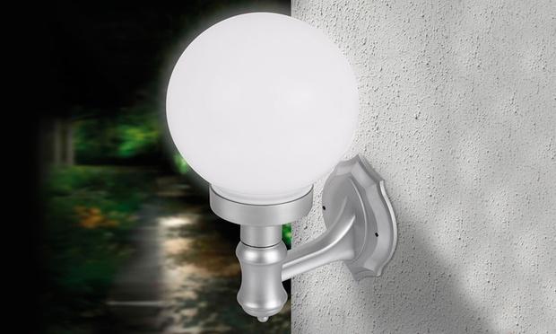 Lampade solari da parete groupon goods for Linee d acqua in plastica vs rame