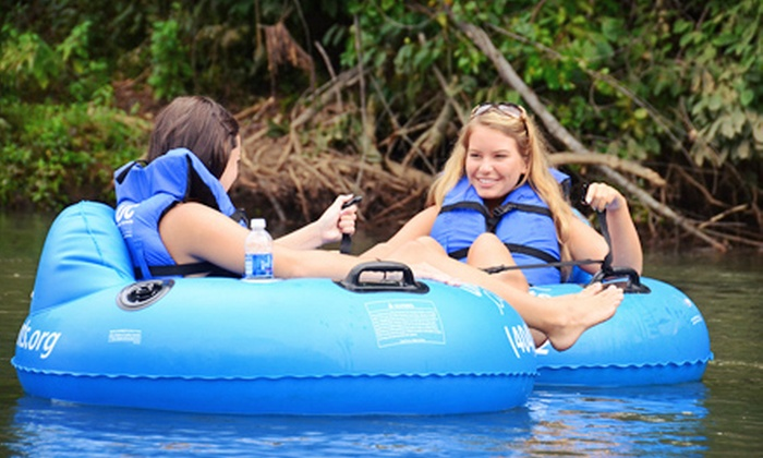 Urban Currents - Sandy Springs: Tubing Trip for Two, Four, or Eight from Urban Currents (Up to 61% Off)