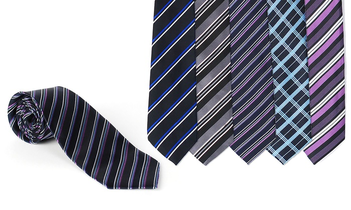 Alberto Cardinali Assorted Men's Ties (4-Pack)