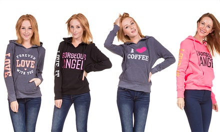 Prestige Edge Ladies' Pull-Over Graphic Hoodies