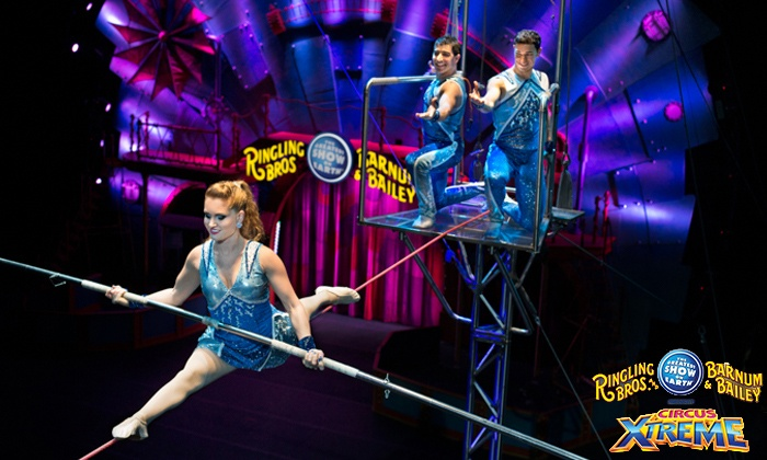 Ringling Bros. and Barnum & Bailey Presents Circus XTREME - SNHU Arena: <i>Ringling Bros. and Barnum & Bailey</i> Presents <i>Circus XTREME</i> on May 5 at 7 p.m. (Up to 50% Off)