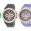 Fortune NYC Women's Alloy Boyfriend Watch