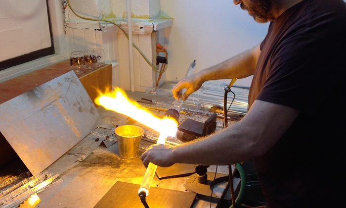 Jim Loewer Glass Co. - Artist Studio: Design a Pendant of Your Choice in a Glassblowing Workshop (Classes Available Through April 2017)