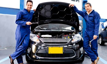 55-Point Car Service With Oil and Filter Change and Optional Diagnostics at Reddicap Garage (Up to 71% Off)