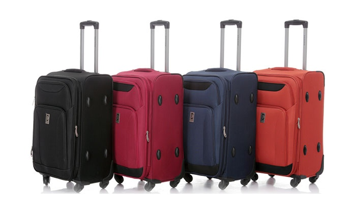 Champs Canada Inc.: Set of 2 or 3 Expandable Suitcases with a Luggage Scale (Shipping Included)