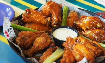 Summer Lunch Special for four or Wingman Dinner Meal at Hurricane Grill & Wings (Up to 42% Off)