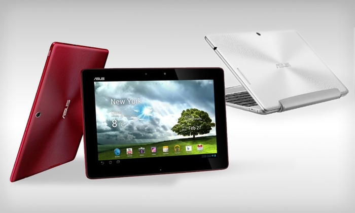 "ASUS TF300 32GB 10.1"" Tablet with Optional Keyboard Dock: ASUS 32GB Transformer Pad 10.1"" Tablet with Optional Keyboard Dock (Up to 26% Off). Free Shipping and Returns."