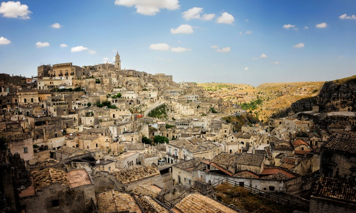 Matera City Tour - Matera: Visita dei Sassi, del Parco della Murgia e degustazione di vino fino a 8 persone con Matera City Tour (sconto fino a 65)