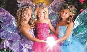 Enchanted Fairies: Costumed Photo Shoot for One, Two, or Three Kids with Print at Enchanted Fairies Studio (Up to 90% Off)