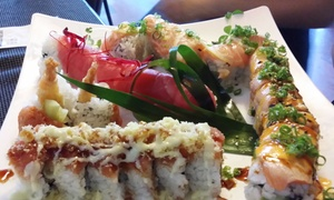 Wild Wasabe: $17 for $25 Worth of Sushi and Japanese Cuisine at Wild Wasabe